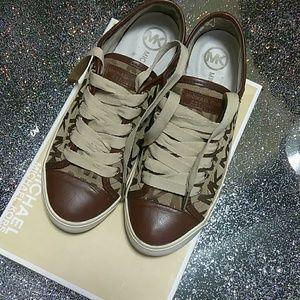 Michael Kors Shoes - Michael Kors   MK Logo Jacquard Sneaker